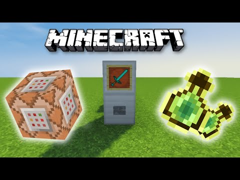 Minecraft: Command Block Shop Tutorial