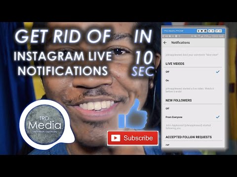 Get Rid Of Instagram Live Notifications in 10 Seconds!