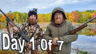 Download Into The Wild Day 1 Of 7 / Wilderness Living Challenge S04E02 /Season 4 episode 2 Survival challenge Video