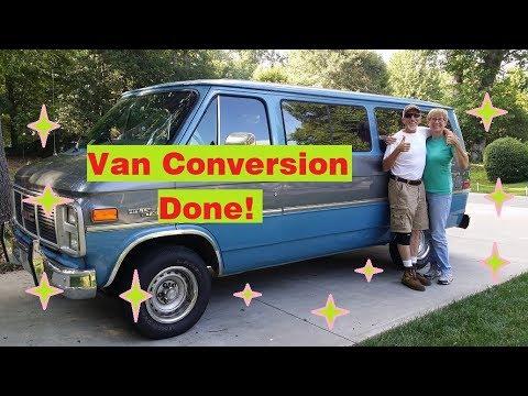 Van Conversion COMPLETE!