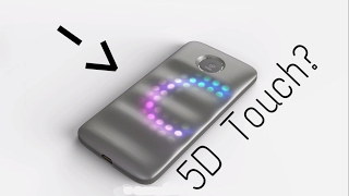 """This Moto Mod will add """"5D touch"""" to the Moto Z"""