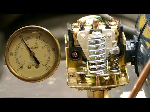 How To Adjust a Pressure Switch
