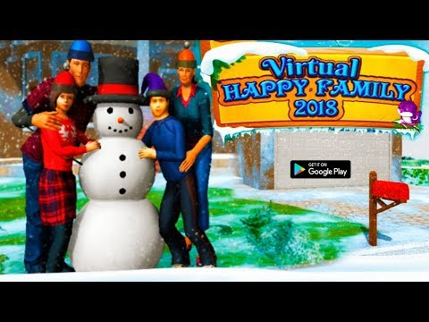Virtual Happy Family 2018 Android GamePlay HD