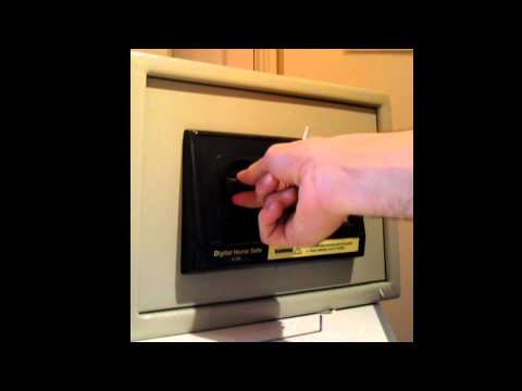 How to open a safe with dead batteries
