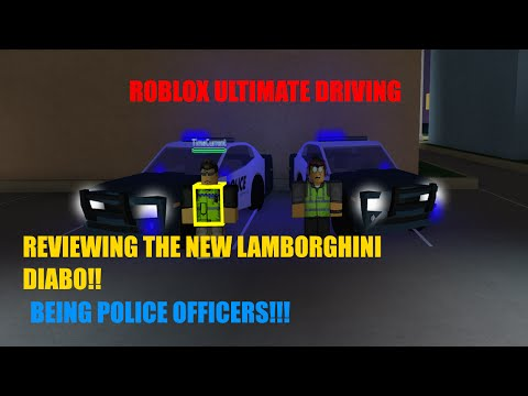 ROBLOX - Ultimate Driving Westover Police Officers / Diablo