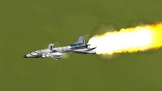 KSP - Flap Controlled SRB Powered Plane