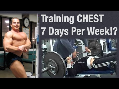 Can You Build A BIG CHEST By Working It 7 Days A Week?