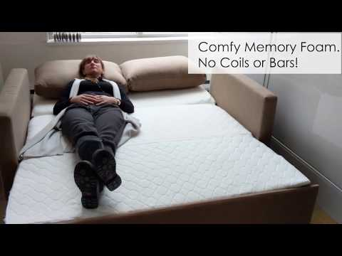 Harmony Sofa Bed features that make it the best sofa sleeper