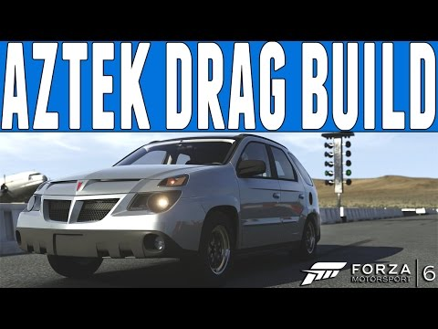 Forza 6 Drag Build : Twin Turbo Pontiac Aztek Drag Build - FM6 DLC