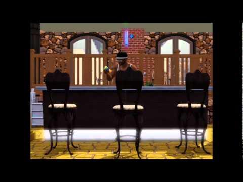 Sims 3 bartender
