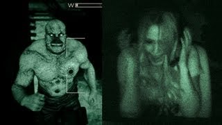 "We locked 20 people from IGN in a room and had them play Outlast to answer the question. What did we discover? See for yourself.  Like this? Watch ""How Scary is Alien Isolation?"" https://www.youtube.com/watch?v=7EWe69vP1pA  How Scary is the Paranormal Activity VR Game? https://www.youtube.com/watch?v=Qsna1ChGt0E  Watch ""How Scary is Until Dawn?"" too! https://www.youtube.com/watch?v=zRzMpAfZflw  Subscribe to IGN"