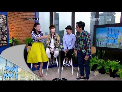 Pagi Pagi 15 Juli 2015 - Aksi Lucu Lee Jeong Hoon dan Tarra Budiman