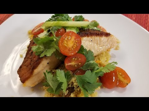In the Kitchen: Pepper Crusted Salmon