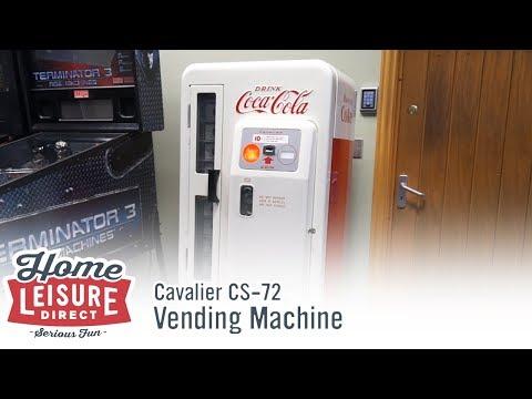 Cavalier CS-72 Coca Cola Vending Machine