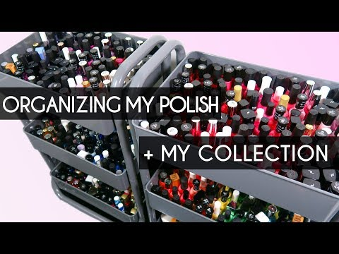 Organizing My Nail Polish + My Collection!