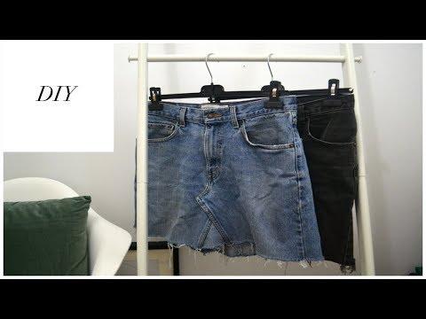 How I Make a Denim Skirt