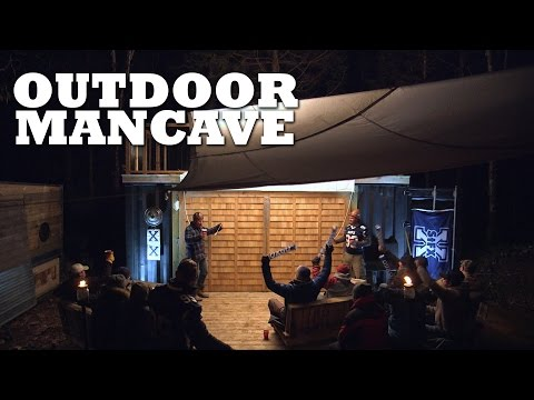 How to Stay Dry in the Outdoor Man Cave