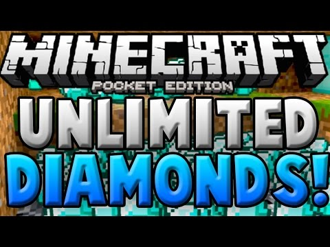 [0.14.0] 2016 NEW EASY DUPLICATING GLITCH! UNLIMITED DIAMONDS! Minecraft PE (Pocket Edition)
