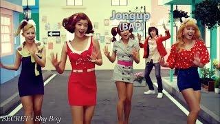 Male K-pop Idols: Predebut MV Appearances