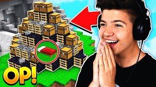 WORLDS MOST OP BED DEFENSE! | Minecraft BED WARS