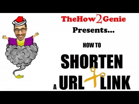 How to Shorten a URL link in Seconds (ie: for Twitter)