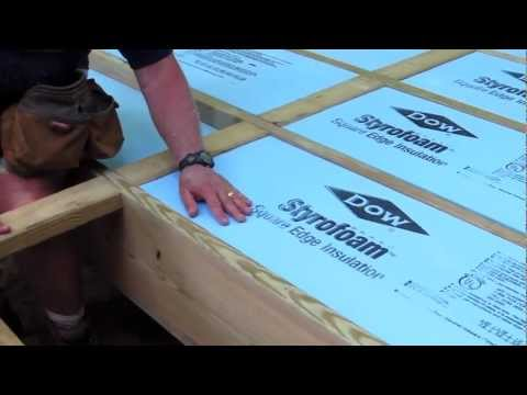 How To Foam Insulation Board