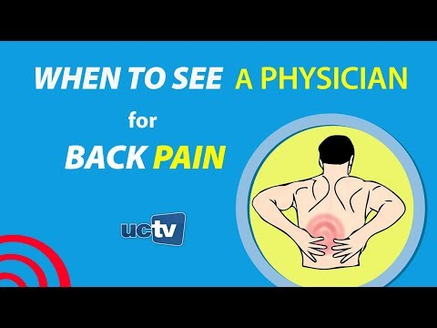 When to See a Physician for Back Pain