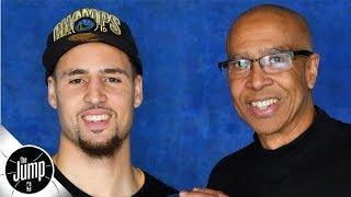 Klay Thompson's dad says Klay will return 'late next season' | The Jump
