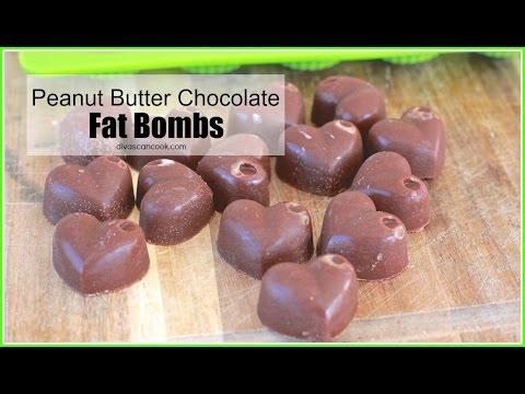 Peanut Butter Chocolate FAT BOMBS! My weight-loss FAV!