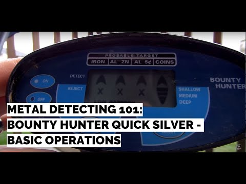 Quick Silver Bounty Hunter:  Basic Operations Tutorial