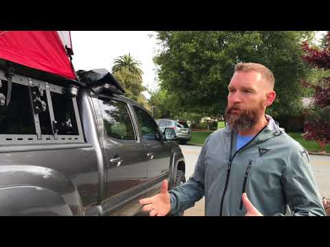 Randybuilt roof top tent pickup rack