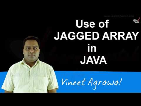 Jagged Array and how to use jagged array in JAVA | Hindi / Urdu