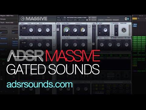 NI Massive Tutorial - Gated Sounds in Massive
