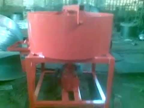 pan mixer for concrete mixing