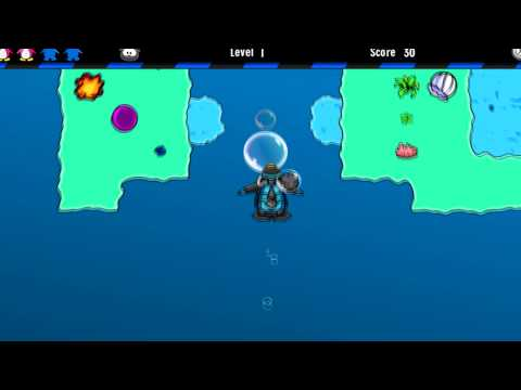 Club Penguin Puffle Rescue ~ How to get the key to the Underwater room