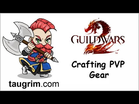Guild Wars 2: Mystic Forge PVP Gear Crafting