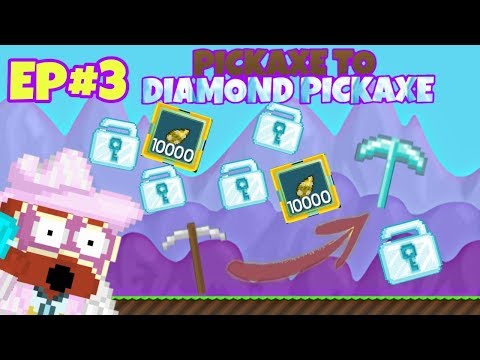 Pickaxe To Diamond Flash Axe! Tons of Gems and Surgery packs! Getting alot of wls! Episode #3