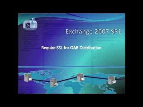 Require SSL for OAB Distribution in Exchange 2007