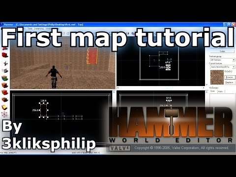 Hammer Tutorial - First Map