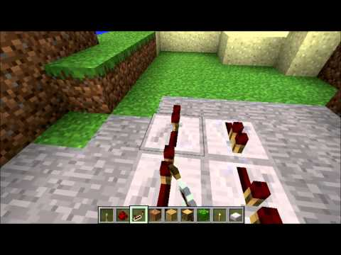 Minecraft how to make a easy and quick  clock circuit