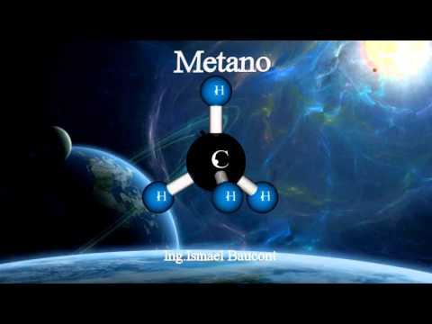 Methane: 3D Molecule
