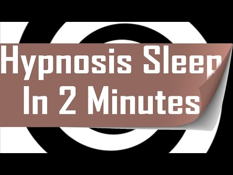 Hypnosis: Deep sleep in 2 minute