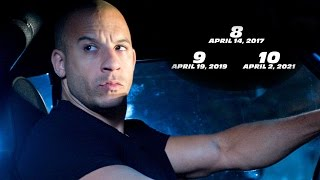 Fast and Furious 9 & 10 Get Release Dates