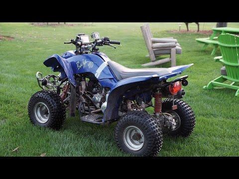 90cc ATV Rev Limiter/Governor Removal + Top Speed Run