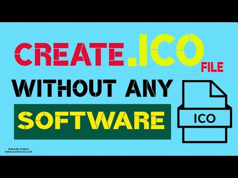 How to Convert PNG to .ICO File Format? Without Any Software? Create  .ICO File format online