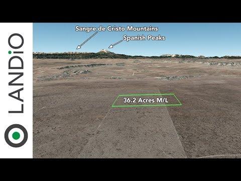 SOLD : Land For Sale in Colorado : 36.2 Acre Ranch in Southern Colorado near Trinidad