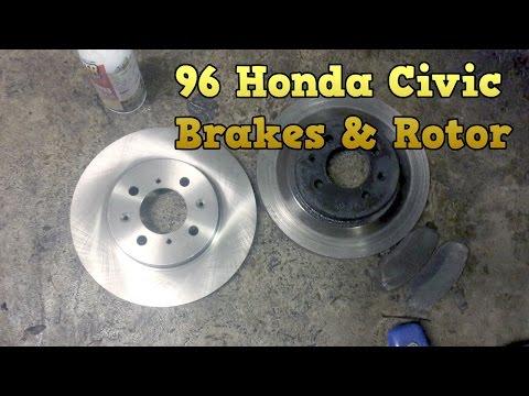 1996 - 2000 Honda Civic - Brakes & Rotor Change