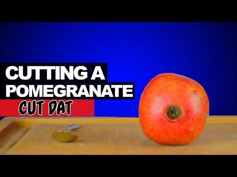 Cutting a Pomegranate