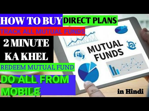 How to Buy Mutual fund Online | Mutual funds buy through mobile| buy direct mutual funds online free