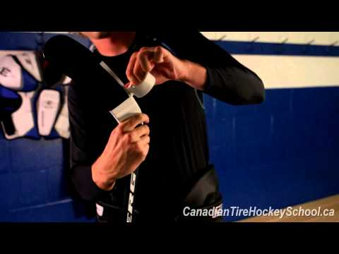 How to Tape Your Stick From Canadian Tire Hockey School